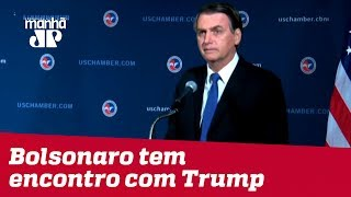 Bolsonaro tem encontro com Donald Trump nesta terça (19) na Casa Branca
