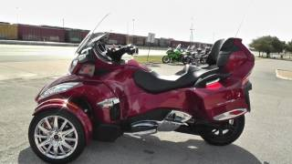 10. 003187 - 2015 Can Am Spyder RT SE6 LIMITED - Used motorcycles for sale