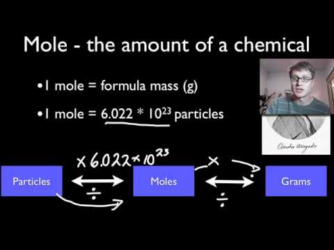 mole - Mr. Andersen shows you how to convert moles to grams and moles to molecules. Intro Music Atribution Title: I4dsong_loop_main.wav Artist: CosmicD Link to soun...