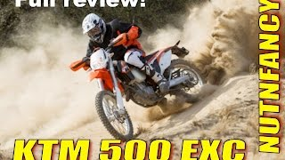 3. Nutnfancy Review: KTM 500 EXC
