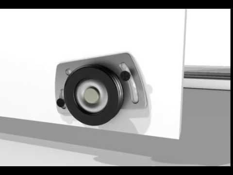 Sistema para puertas de closet  - Frente de placard