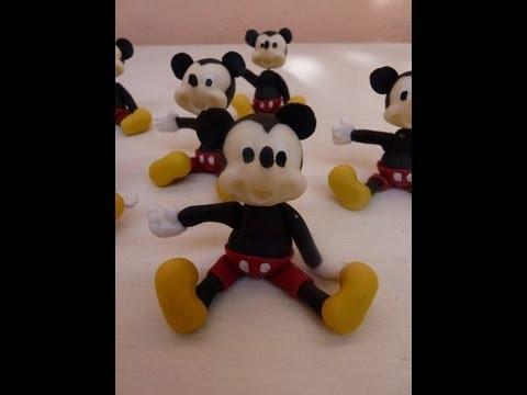 Caras de Mickey Mouse en porcelana fría - Imagui