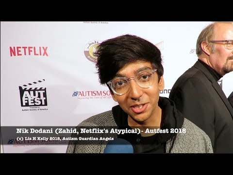 Nik Dodani Atypical gives Dating Advice at Autfest 2018
