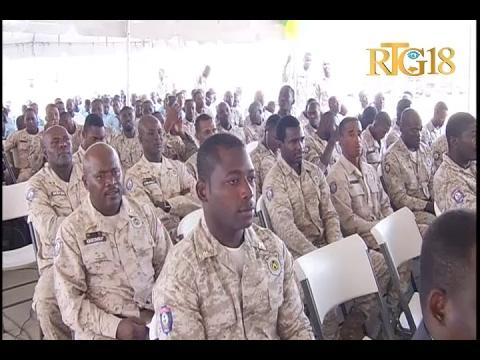 Haïti.- 21ème anniversaire du Corps d'intervention et de maintien d'ordre (CIMO)