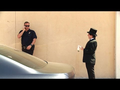 Magician Tries To Sell Weed To Cops