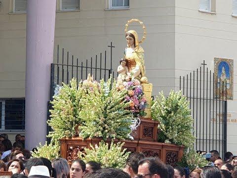 Procesión Virgen del Mar 2019 -Punta del Caimán (Salida).