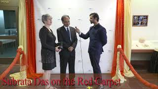 Subrata Das on The Foundations TV Red Carpet