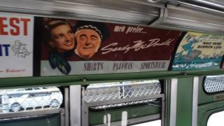 "Seen here is a bus tour inside and outside a 1956 GMC TDH-5106 ""Old Look"" #3100. This person was with me during this video: Miketron B - https://www.youtube...."