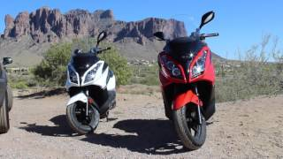 9. Kymco Downtown 300i Review 2013&2015 - Chandler Powersports - Phoenix Scooter Club