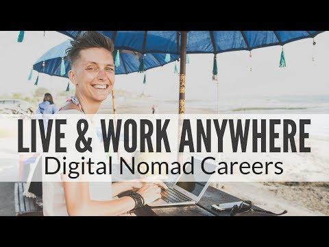 The Best Digital Nomad Jobs & Career Options