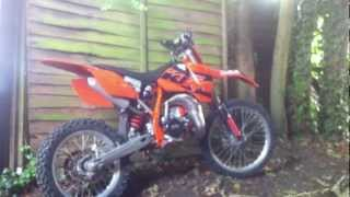 6. KTM Racing SXS 105 huge spec, running