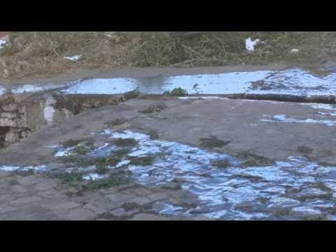 Desperdício de água em São Francisco do Maranhão. Absurdo!