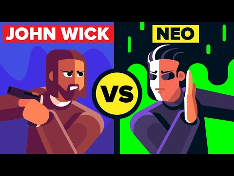 John Wick vs Neo - Which Keanu Reeves Character Would Win? (John Wick & The Matrix Movies)