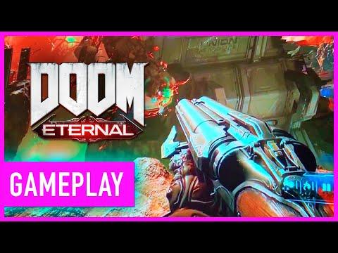 Doom Eternal On Google Stadia Gameplay | GDC 2019