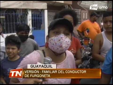 Furgoneta se impactó contra una vivienda en el suburbio de la ciudad