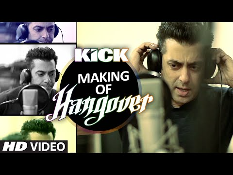 Making of Hangover Song   Salman Khan   Kick   Meet Bros Anjjan