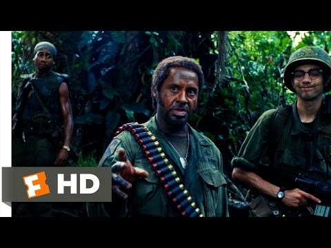 tropic - Tropic Thunder Movie Clip - watch all clips http://j.mp/z8iy2p click to subscribe http://j.mp/sNDUs5 While lost in the jungle, Kirk (Robert Downey Jr.) and A...