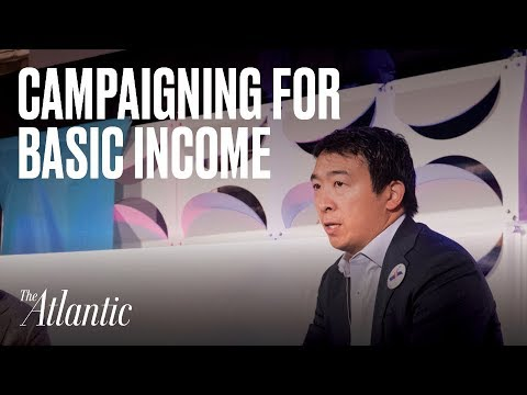 Running for president on a universal basic income platform