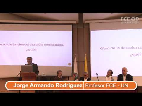 Jorge Armando Rodríguez en Debate CID sobre la Reforma Tributaria Estructural