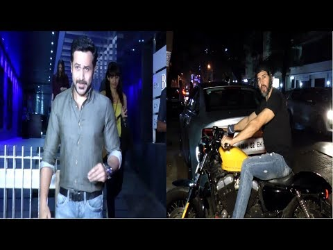 Dino Morea & Emraan Hashmi With Family Spotted At Hakkasan Mumbai