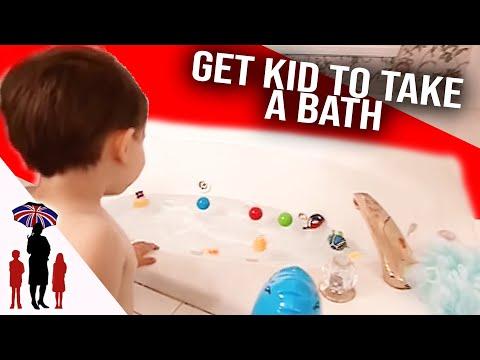 How To Make Bath Time Fun  | Supernanny