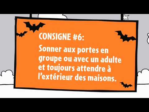 Web �pisode 6 de L�on - Les consignes de s�curit� pour l'Halloween
