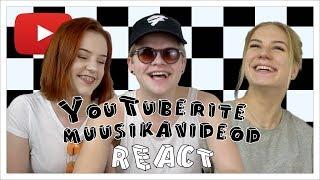 YouTuberite Muusikavideod React  Eesti YouTuberid Seekord reageerivad YouTuberid teiste YouTuberite loodud muusikavideotele. Kindlasti anna meile ...
