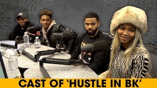 Video The Cast Of 'Hustle In Brooklyn' On Growing In The Industry, Reality TV Drama + More MP3, 3GP, MP4, WEBM, AVI, FLV Desember 2018