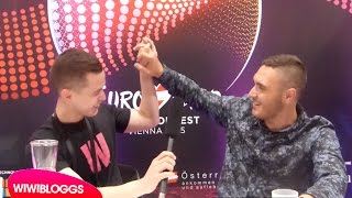 Video Interview: Nadav Guedj (Israel) @ Eurovision 2015 first rehearsal | wiwibloggs MP3, 3GP, MP4, WEBM, AVI, FLV Juli 2018