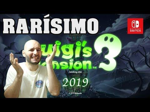 ¡EL NINTENDO DIRECT MÁS RARO DE LA HISTORIA! - Sasel - Luigis mansion 3 , nintendo switch - español