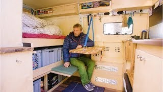 ARCHITECT and CARPENTER create a SUPER Innovative Van Conversion by Nate Murphy