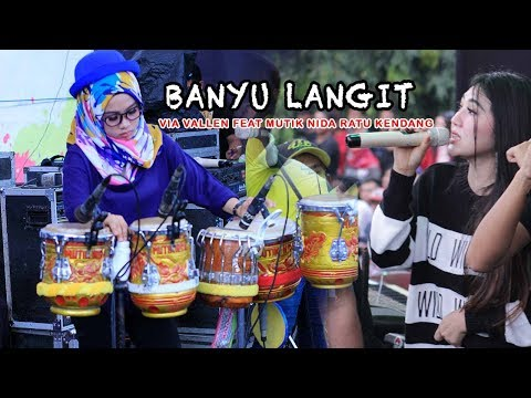 Video BANYU LANGIT - VIA VALLEN FEAT RATU KENDANG MUTIK NIDA download in MP3, 3GP, MP4, WEBM, AVI, FLV January 2017