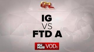 IG vs FTD, game 2