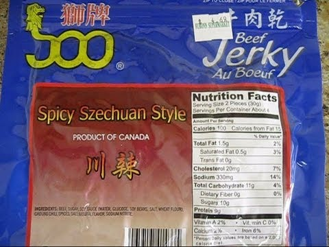 Spicochist Reviews: Spicy Szechuan Style Beef Jerky