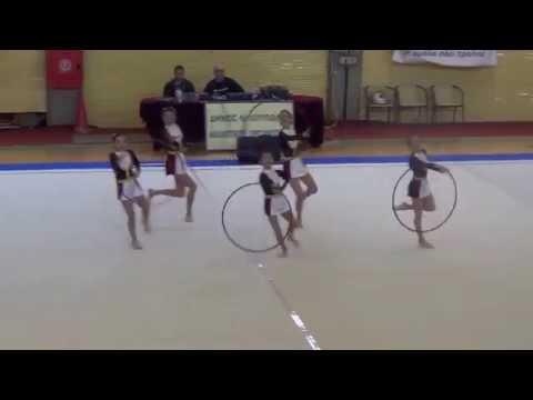 Ηχητική υπόκρουση Ψαραντώνη, σε αγώνες ρυθμικής γυμναστικής