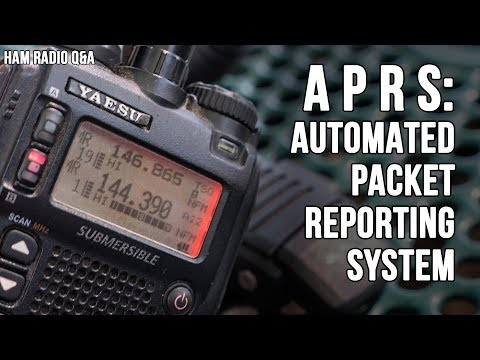 Introduction to APRS the Automated Packet Reporting System - Ham Radio Q&A