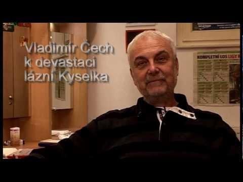Vladimír Čech hovoří o Mattoniho lázních Kyselka