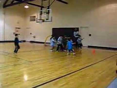 indoor soccer (4-6 year-olds): week 3