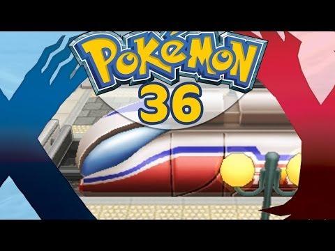 comment prendre le train dans pokemon y