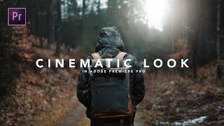 Video How to get the CINEMATIC LOOK in Premiere Pro MP3, 3GP, MP4, WEBM, AVI, FLV Agustus 2018