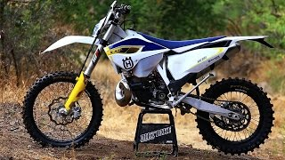 10. 2015 Husqvarna TE 300 2 Stroke with Mike Brown - Dirt Bike Magazine