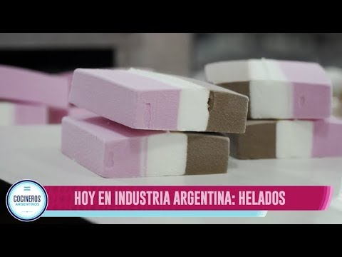 Industria argentina, helados