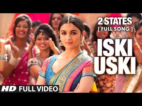 Video Iski Uski FULL Video Song | 2 States | Arjun Kapoor, Alia Bhatt download in MP3, 3GP, MP4, WEBM, AVI, FLV January 2017