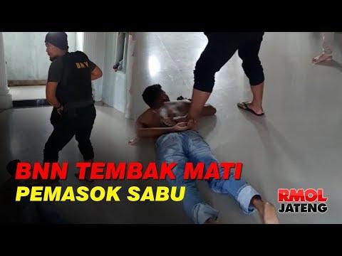 BNN Tembak Mati DPO Pemasok Sabu Dari Malaysia