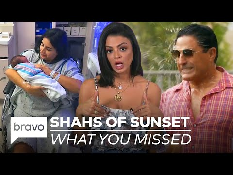 Everything You Need to Know About Shahs of Sunset Before Season 8 Premieres on 2/9!