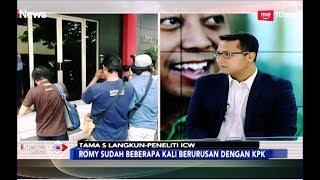 Video Peneliti ICW Sebut Romi Beberapa Kali Berurusan dengan KPK - iNews Sore 15/03 MP3, 3GP, MP4, WEBM, AVI, FLV Maret 2019