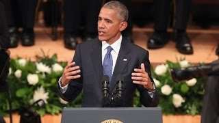 President Obama's speech: at 25:51, he said what so many do not care to admit