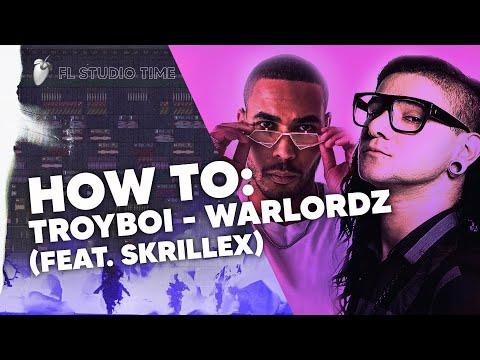 How To Remake: TroyBoi - WARLORDZ (feat. Skrillex) in 6 minutes   (remix by Bailo & ISOxo remake)