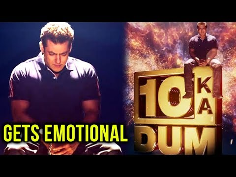 Salman Khan EMOTIONAL MOMENT With A Contestant On