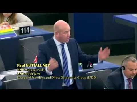 EU sanctions and militarism will not work against Russia - Paul Nuttall, UKIP Deputy Leader